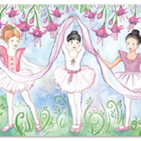 Bella Ballerina Floor Puzzle (100pc)
