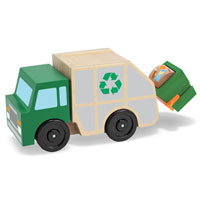 Recycling Garbage Truck