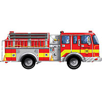 Giant Fire Truck (24 pcs)