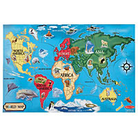 World Map (33 pcs)