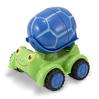 Scootin' Turtle Cement Mixer