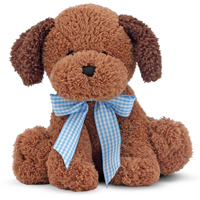 Meadow Medley Chocolate Puppy
