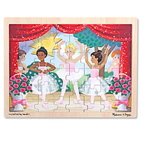 Ballet Performance Wooden - 48 piece Wooden Jigsaw Puzzle