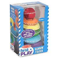 Rainbow Stacker - Plush