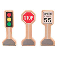 Whittle World - Traffic Signs Set