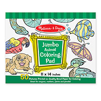 Jumbo Coloring Pad - Animal