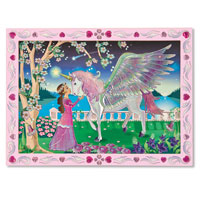 Peel & Press Sticker by Number - Mystical Unicorn