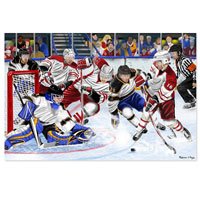 Slap Shot! Floor Puzzle - 48 piece Floor Puzzle