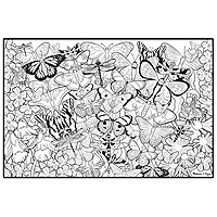 Doodle Poster - Butterfly