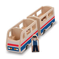 Whittle World - Train Platform Play Set