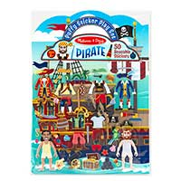 Puffy Stickers - Pirate Adventure