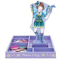 Petal Fairy Magnetic Dress Up