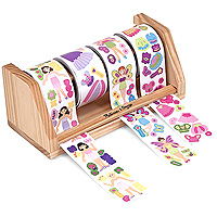 Dress-Up Princess & Fairy Sticker Rolls