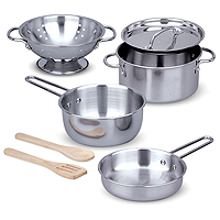 Let's Play House! Pots & Pans Set