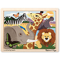 African Animals Jigsaw (12 pcs)