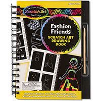 Drawing Book - Fashion Friends