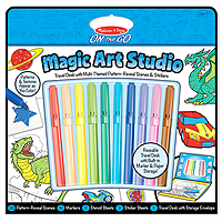 On the Go Magic Art Studio - Blue