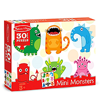 Mini Monsters Jigsaw Puzzle - 30 pc