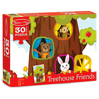 Treehouse Friends Jigsaw Puzzle - 30 pc
