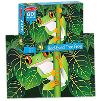 Red-Eyed Tree Frog Jigsaw Puzzle - 60 pc