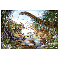 Prehistoric Waterfall Jigsaw Puzzle - 200 pc
