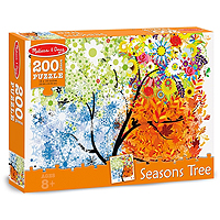 Seasons Tree Jigsaw Puzzle - 200 pc