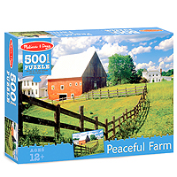 Peaceful Farm Jigsaw Puzzle - 500 pc