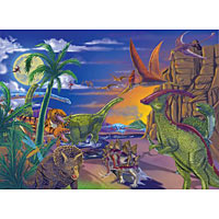 Land of Dinosaurs (60 pcs)