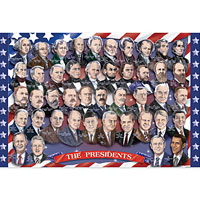 Presidents of the U.S.A. (100 pcs)