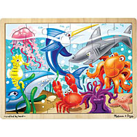 Under the Sea Wooden Jigsaw