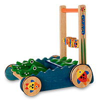 Chomp and Clack Alligator Push Toy