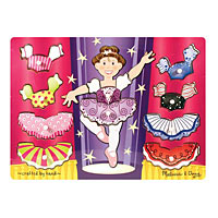Ballerina Dress Up Mix'n Match Peg
