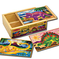 New Dinosaurs Puzzles in a Box