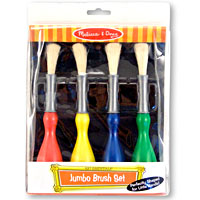 Jumbo Paint Brushes