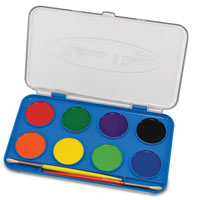 Jumbo Watercolor Set - 8 colors