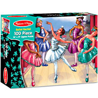 Ballet Recital 100 pc Jigsaw Puzzle
