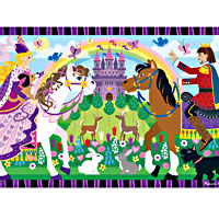 Fairy Tale Friendship Floor Puzzle