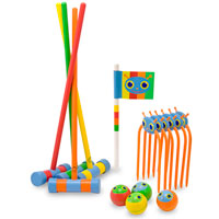 Happy Giddy Croquet Set
