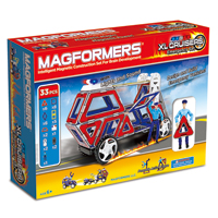 Magformers XL Cruisers - Emergency Set