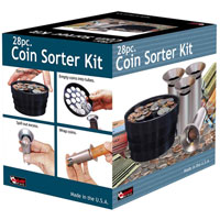 Shake and Sort Coin Counter