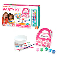 Paint Your Own Porcelain Party Kit