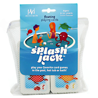 Splash Jack Floating Playing Cards