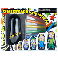 Design-Your-Own Chalkboard Matryoshkas