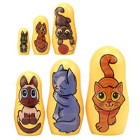 Kitten Matryoshkas