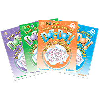 Super Challenge Dot-to-Dot Books Set of 4