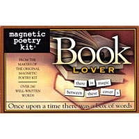 Book Lover Magnetic Poetry Kit