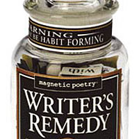 Magnetic Poetry Writer's Remedy