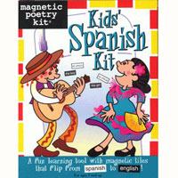 Magnetic Poetry Kids' Spanish