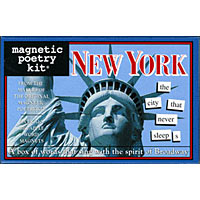 Magnetic Poetry - New York