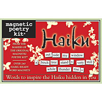 Magnetic Poetry - Haiku Kit